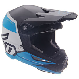 6D ATR-1 Flight Helmet Small Black/Blue