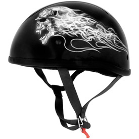Skid Lid Original Half-Face Motorcycle Helmet