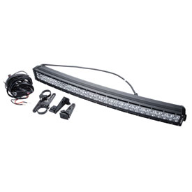 sla_16_3d_ser_cur_led_lig_bar_and_wir_har_kit 30_in_180_wat slasher products 3d series curved led light bar and wiring harness
