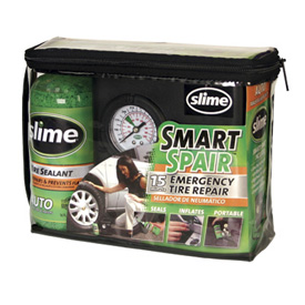 Slime Smart Spair Tire Repair Kit wtih Compressor
