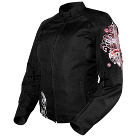 Speed and Strength Cross My Heart Textile Ladies Jacket