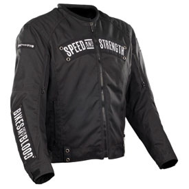 Speed and Strength Bikes Are In My Blood Textile Motorcycle Jacket