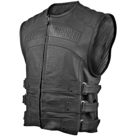 Speed and Strength Tough As Nails Leather Motorcycle Vest