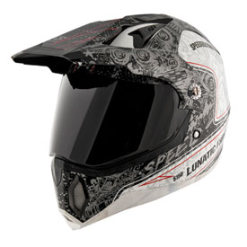 Speed and Strength The Lunatic Fringe Motorcycle Helmet