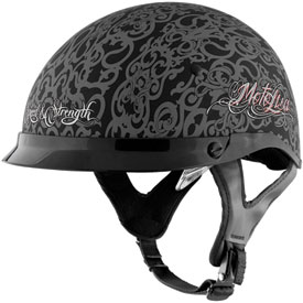 Speed and Strength SS500 MotoLisa Ladies Open-Face Motorcycle Helmet