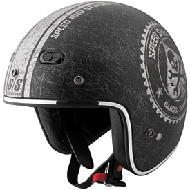 Speed and Strength SS600 Open-Face Motorcycle Helmet