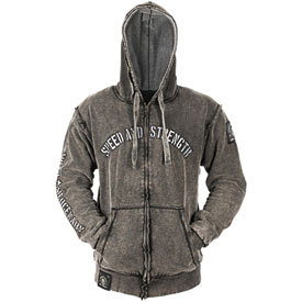 Speed and Strength Moto Mercenary Armored Hooded Jacket