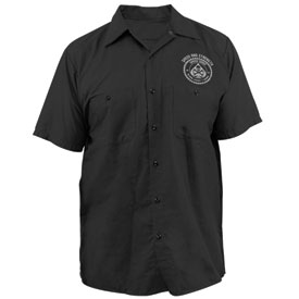 Speed and Strength Speed Shop Garage Button Up Shirt