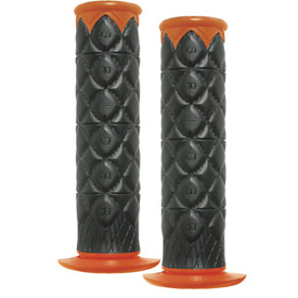 Spider Grips SLT ATV Grips Orange/Black