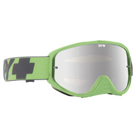 Spy Woot Race Goggle  Washed Out Green Frame/Smoke Silver Mirror Lens