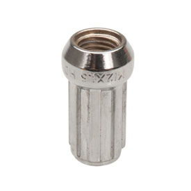 STI Tapered Spline Drive Chrome Lug Nut