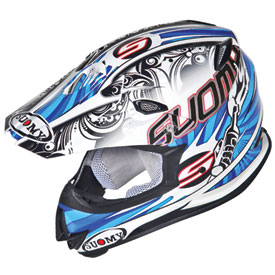 Suomy MX Jump Molotov Helmet Small White