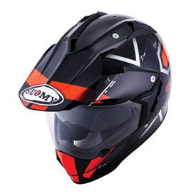 Suomy MX Tourer Helmet XX-Large Road Orange