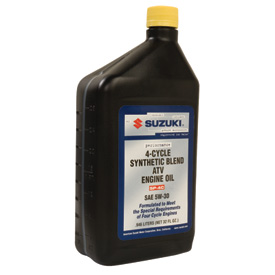 Suzuki Performance Semi-Synthetic ATV Engine Oil