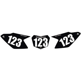 Attack Graphics Number Plate Backgrounds