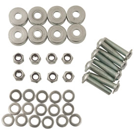 SW-MOTECH Quick-Lock Evo Sidecarrier TraX Hard-Bolt Adapter Kit