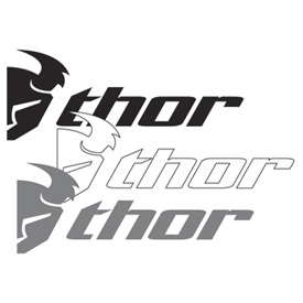 Thor Slant Die-Cut Decal 6-Pack