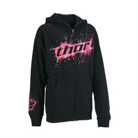 Thor Prima Ladies Youth Zip-Up Hooded Sweatshirt