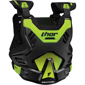 Thor Sentinel GP Roost Deflector X-Large/XX-Large Black/Green