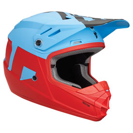Thor Youth Sector Level  Helmet Small Blue/Red