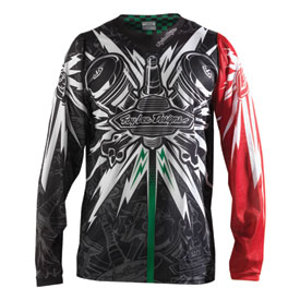 Troy Lee SE Piston Bone Jersey