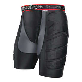 Troy Lee 7605 Ultra Protection Shorts Small Black