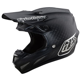 Troy Lee SE4 Midnight Carbon MIPS Helmet