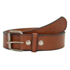 Torq Hustle Embossed Leather Belt