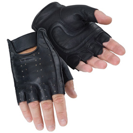 Tourmaster Select Fingerless Motorcycle Gloves