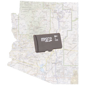 Trail Tech Voyager GPS/Computer Micro SD Map Card
