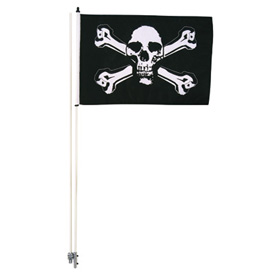 Tusk Skull and Cross Bones Flag