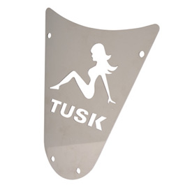 Tusk Comp Series Custom Bumper Faceplate, Trucker Girl