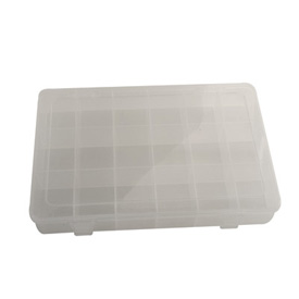 Tusk Eighteen Compartment Plastic Case