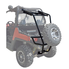 rzr parts diagram 12 tusk utv rear bumper  cargo rack  and spare tire carrier parts  tusk utv rear bumper  cargo rack  and