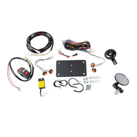 tusk atv horn & signal kit with recessed signals | parts & accessories |  rocky mountain atv/mc  rocky mountain atv/mc