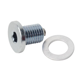 Tusk Low-Profile Magnetic Drain Bolt