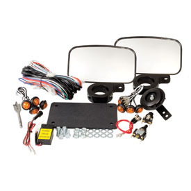Tusk UTV Horn & Signal Kit - With Mirrors