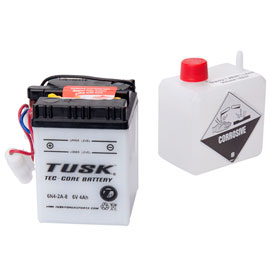 Tusk Tec Core Battery With Acid Dirt Bike Rocky