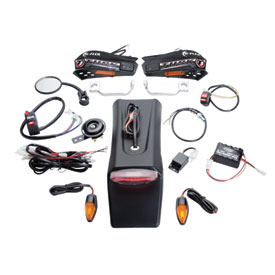 Tusk Motorcycle Enduro Lighting Kit with Handguard Turn Signals