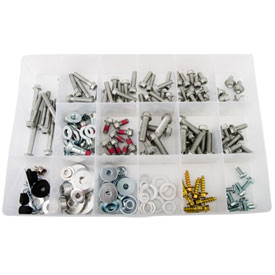 Tusk 178 Piece European Bolt Kit w/ Aluminum Shroud Bushings