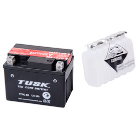 Tusk Tec-Core Battery with Acid TTX4LBS Maintenance-Free