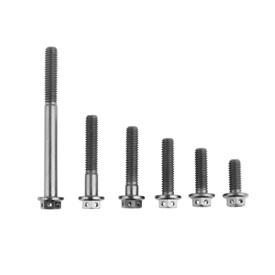 Tusk 6mm Titanium Flange Bolt 38 Piece Kit | Parts