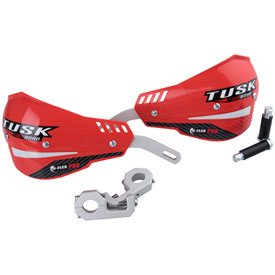 "Tusk D-Flex Pro Handguards Red 7/8"" Bars"