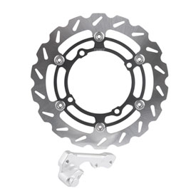 Tusk Oversized Floating Typhoon Brake Rotor Kit, Front