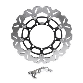 Tusk Oversized Floating Typhoon Brake Rotor Kit, Front 320mm