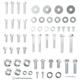 Tusk 60 Piece Metric Motorcycle Trail Bolt Kit