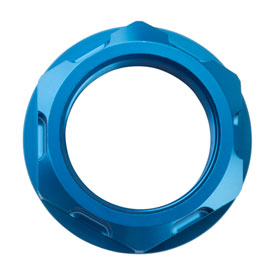 Tusk Billet Aluminum Steering Stem Nut  Blue