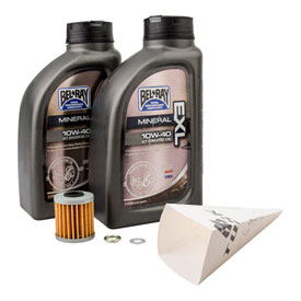 Tusk 4-Stroke Oil Change Kit  Bel-Ray EXL 10W-40