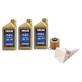 Tusk 4-Stroke Oil Change Kit  Yamalube Hi-Perf. Synthetic 10W-40