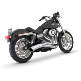 Vance & Hines Big Radius 2-Into-1 Motorcycle Exhaust